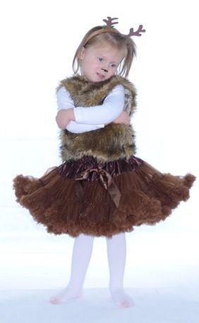 farsangi jelmez csokoládé  pettiskirt tütü bambi deer fancy dress jelmez