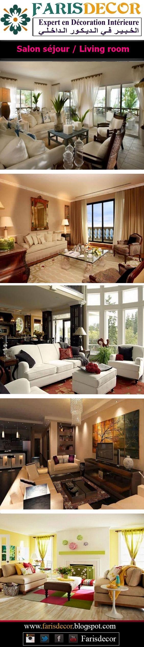 Les 153 Meilleures Images Du Tableau Living Rooms Collection Sur  # Meubles Pour Salon Afrique