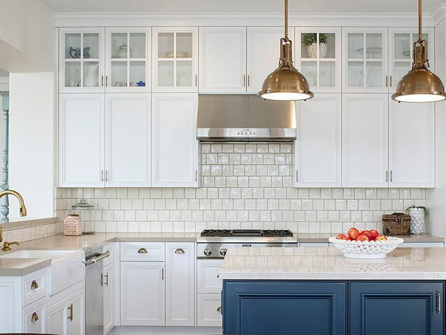 Weu0027re On An Island Paradise With CM Natural Designs! The Bold Blue Base.  Kitchen InteriorParadiseCabinets