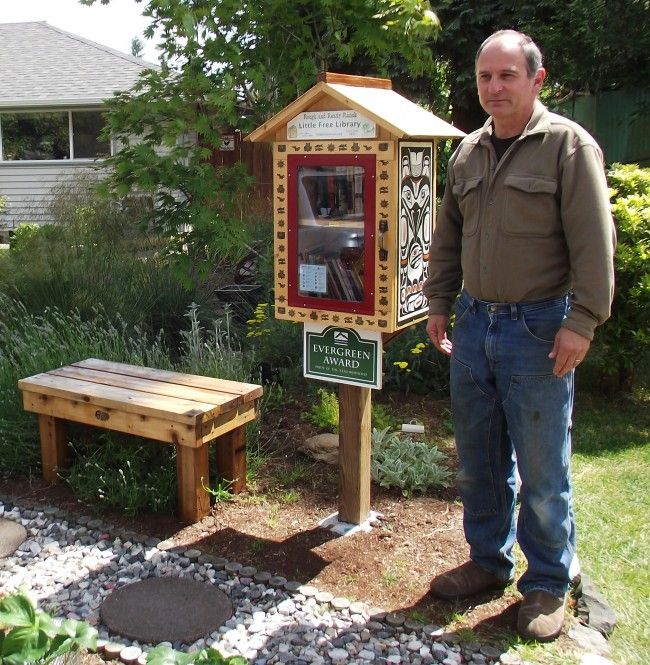 Little Free Library becomes a big project for MLT man