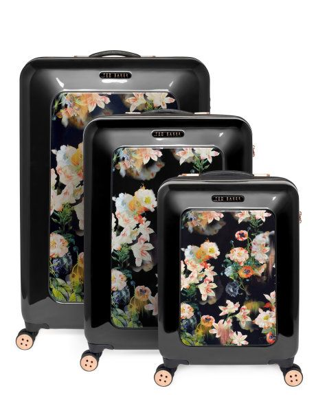 Adore this Ted Baker luggage - floral suitcase for the win!