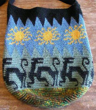 Tapestry Crochet Bag by Esther Holsen
