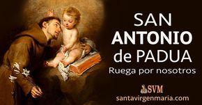 PODEROSA ORACION A SAN ANTONIO DE PADUA