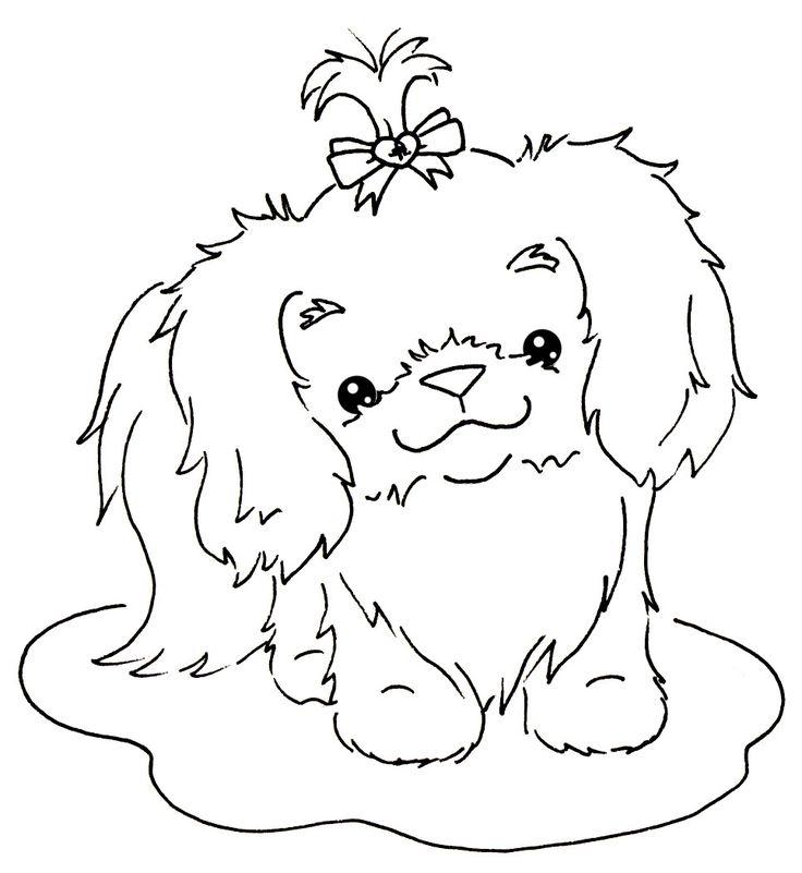 Cute Shih Tzu Coloring Pages Dinsdag 5 Oktober 2010