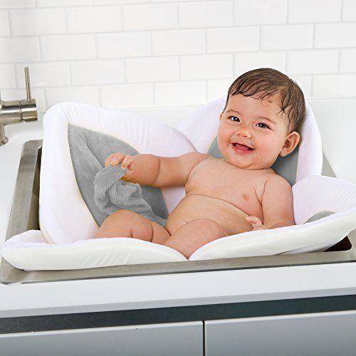Baby Bath Seat Βathtub Petals Safety Support Chair Shower Relax Fun Bathroom  #BloomingBath