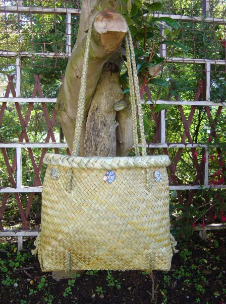 Kete in full fine weave made by me.