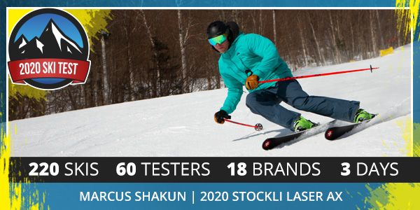 2020 SkiEssentials Ski Test