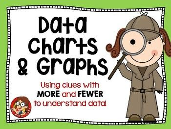 This resource may be the best thing you didn't know you needed!  It is truly different from most data and graphing activities for primary kids. With this one set of 10 no-prep printable, your students will work on: - data charts- graphing- tallies- 3 addend problems- reasoning- comparingKids will use clues (who doesn't like a mystery?) about data to figure out how they will fill out a data chart or bar graph.