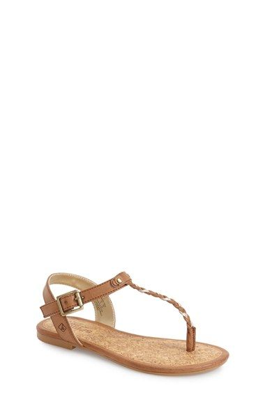 Sperry Kids 'Anchor Away' Sandal (Toddler, Little Kid & Big Kid) available at #Nordstrom