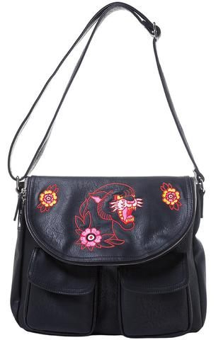 Handbag - Black Panther Shoulder Bag