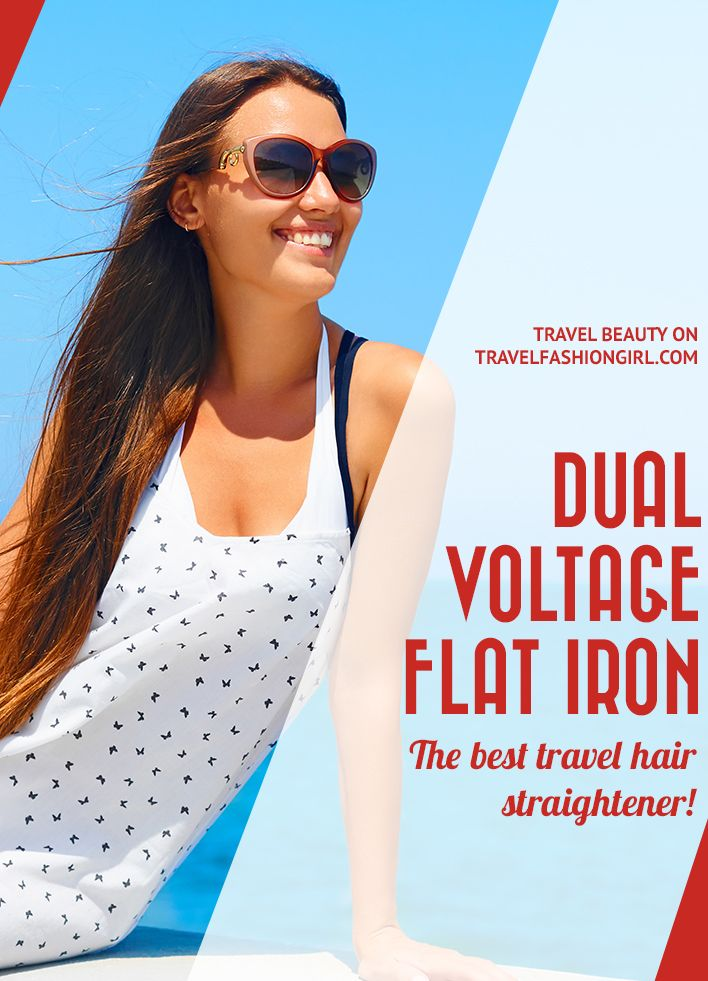Having the right voltage is crucial when you use electronics abroad including your hair tools. Find out why the best travel hair straightener is a dual voltage flat iron and the ten best options to use! What's the Best Travel Hair Straightener? A Dual Voltage Flat Iron http://travelfashiongirl.com/dual-voltage-flat-iron/ via @travlfashngirl #travel #packing #tips