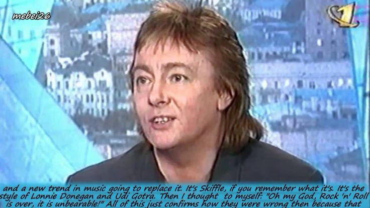 Chris Norman in the 1997 - 2/2 The Interview on Russian TV