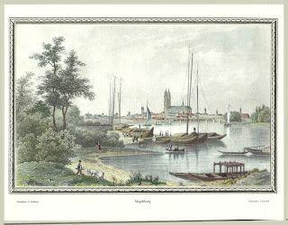Historisches Bild von der Stadt Magdeburg #stadt #magdeburg #historisch #geschichte