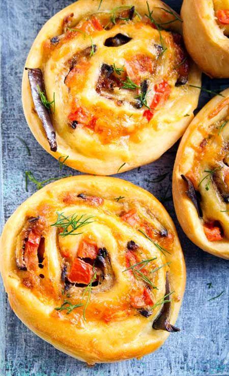 Spicy-Savory Sausage Pinwheels   Foodal.com