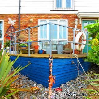17 best ideas about nautical landscaping on pinterest for Nautical themed backyard