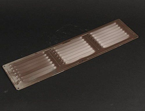 CMI 16' x 4' Brown Aluminum Face On Vent- FOV164BR * Details can be found by clicking on the image.