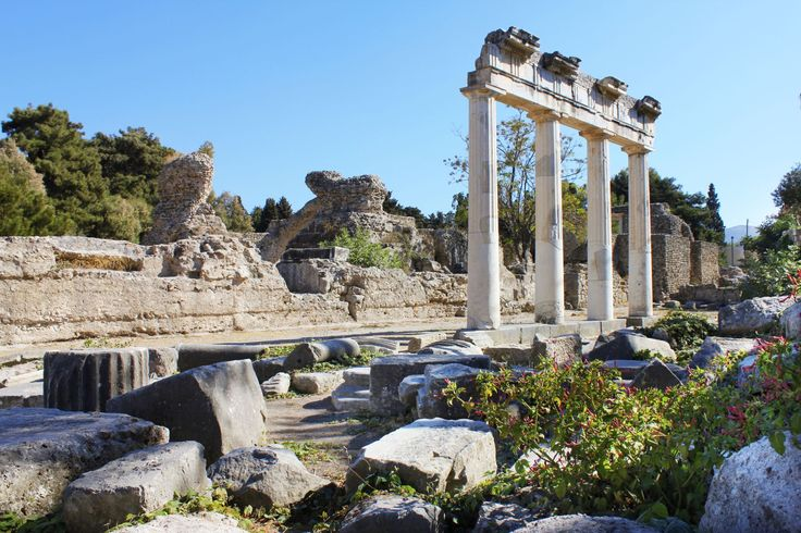 Presentation of Archaeological Site of Ancient Agora and Port of Kos by gtp.gr