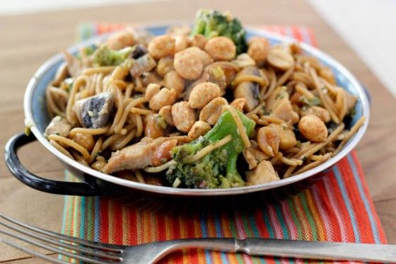 ... about noodles on Pinterest | Dressing, Sesame noodles and Peanut sauce