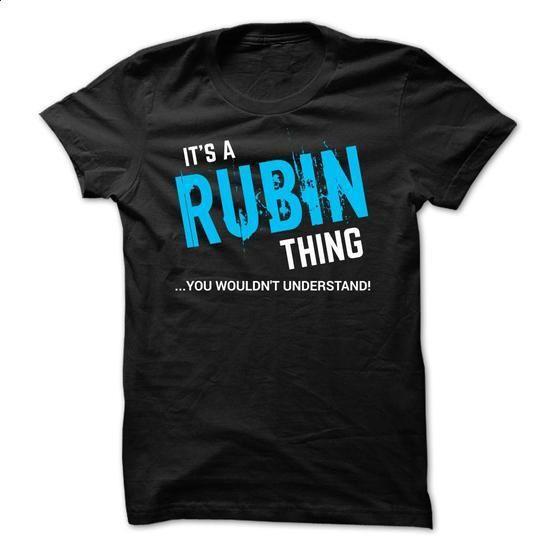 SPECIAL - It a RUBIN thing    - #slogan tee #sweatshirt dress. CHECK PRICE => https://www.sunfrog.com/Funny/SPECIAL--It-a-RUBIN-thing--.html?68278