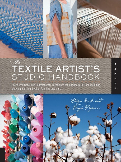 Textile Arts Center wrote a book on fiber art and how to set up an artist's studio!