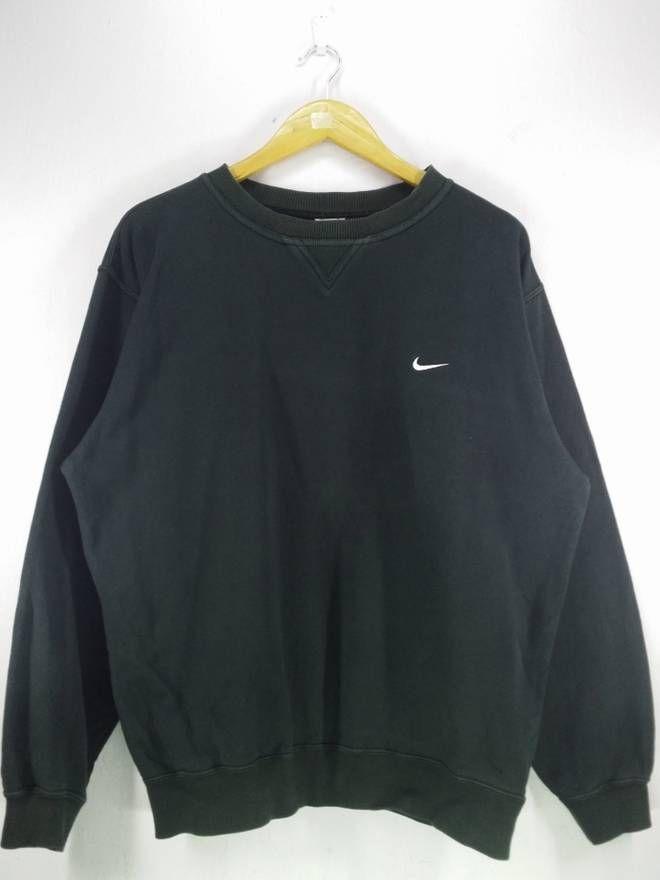 26532b3642995 Nike Nike Swoosh Small Logo Embroidery Sweatshirt Jumper Pullover ...