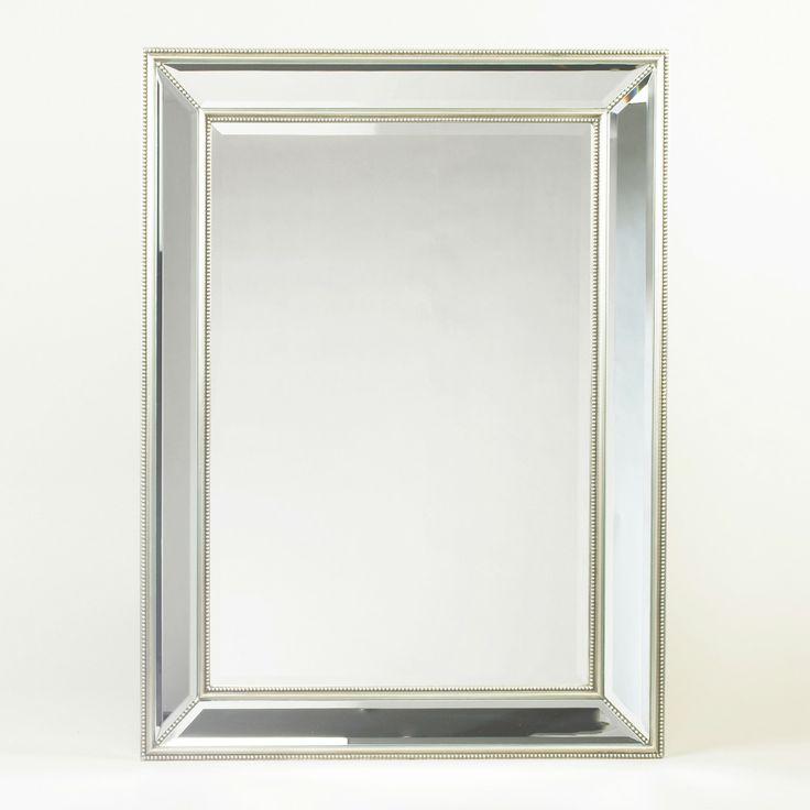 Hastings Mirror Flo Decor Mirror Amp Beaded Frame 48 X 36