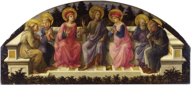 The 7 Saints by Fillipo Lippi