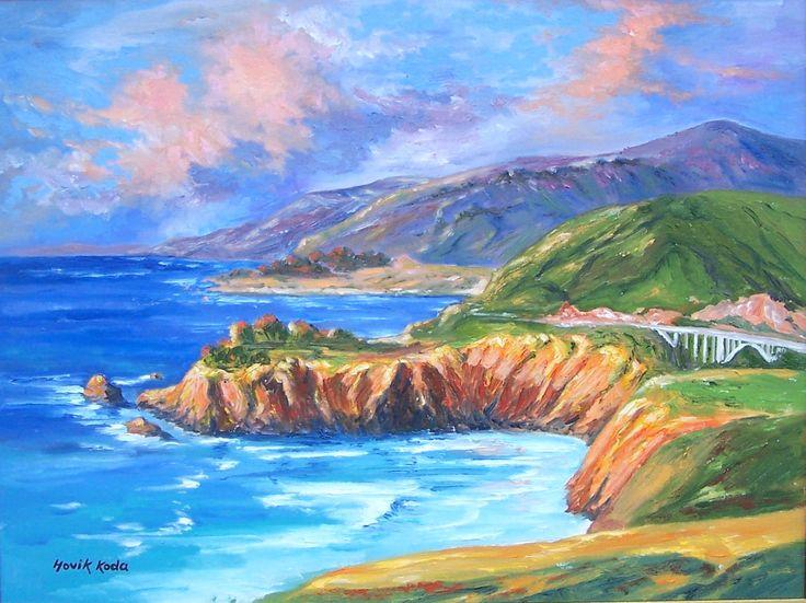 Sunny Cliffs- Big Sur