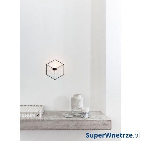 Świecznik naścienny Menu POV biały 4766639
