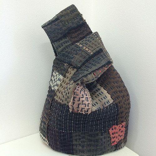Boro inspired reversible loop bag. You tube video in a few weeks! #boro #bags…