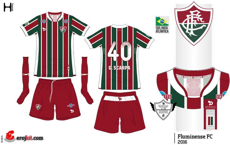 Kit Design, by eroj: 2016 Fluminense (Home e Away)
