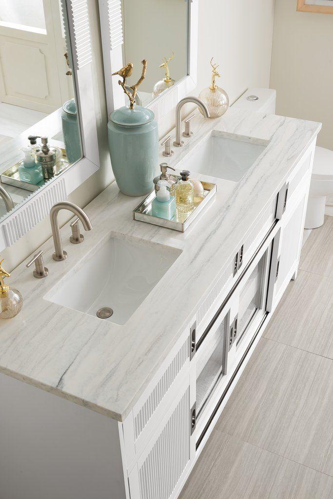 72 Brisbane Bright White Double Sink Bathroom Vanity Bathroom Vanity Double Vanity Bathroom Unique Bathroom Vanity