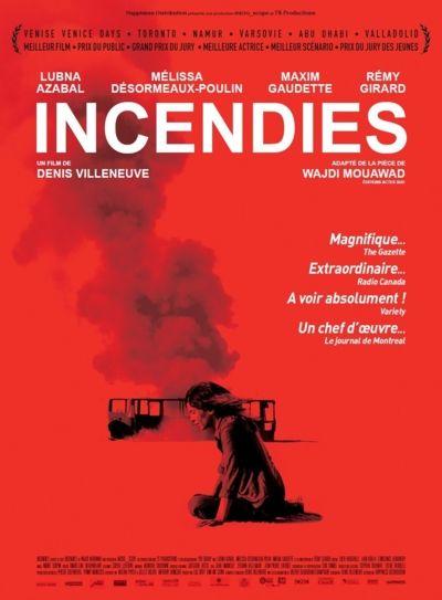 Incendies Film canadien français de Denis Villeneuve (2011)
