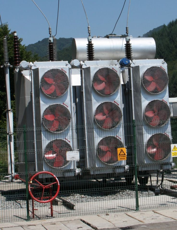 Electrical power substation transformer, Cooling Fans - Public Domain Photos, Free Images for Commercial Use