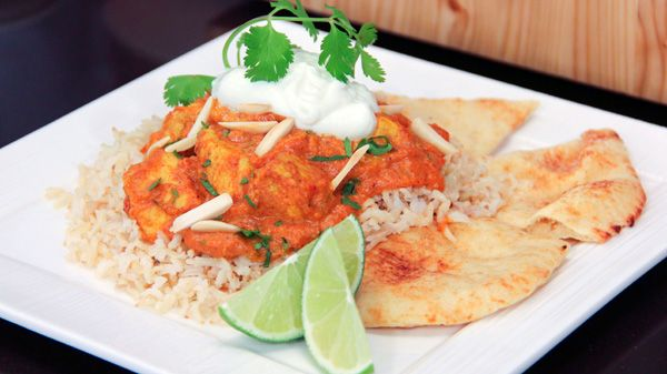 Dish Do-Over: Butter Chicken | Steven and Chris | Chef Jo can't resist a bowl of sweet and spicy butter chicken calling her name. This popular Indian restaurant favourite is a crowd-pleaser, but full of fat and calories thanks to oil, butter and cream. Serves 6 Indian cuisine is...