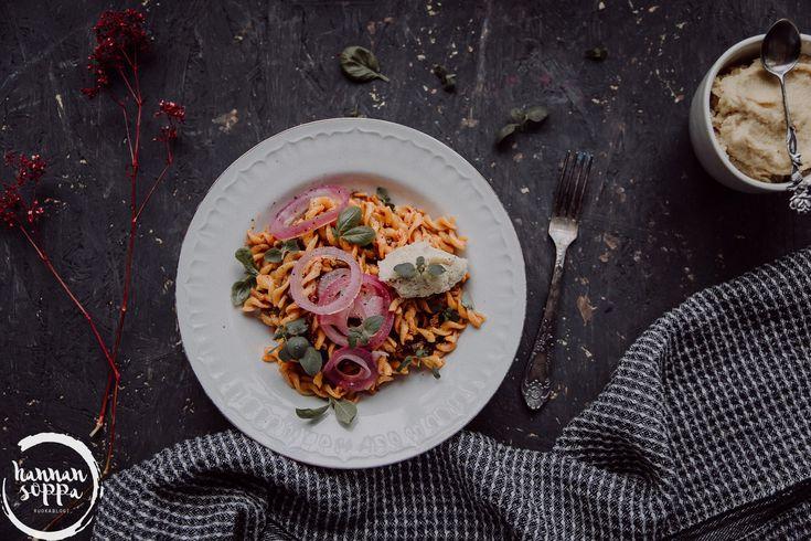 pasta puttanesca / Hannan soppa