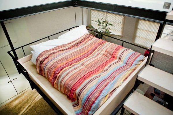 Ingenious Apartment: Creative Space Saving Solutions