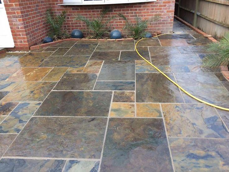 Slate Sandstone Limestone Patio Paving Copper Slate 18mm | Limestone Patio,  Slate And Patios