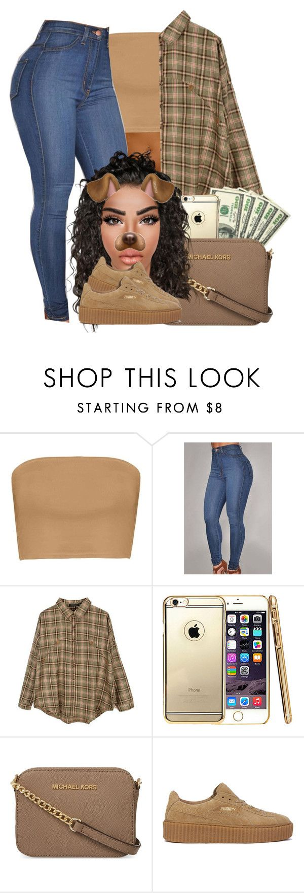 """""""Child's Play    Drake"""" by heavensincere ❤ liked on Polyvore featuring Retrò, MICHAEL Michael Kors and Puma"""