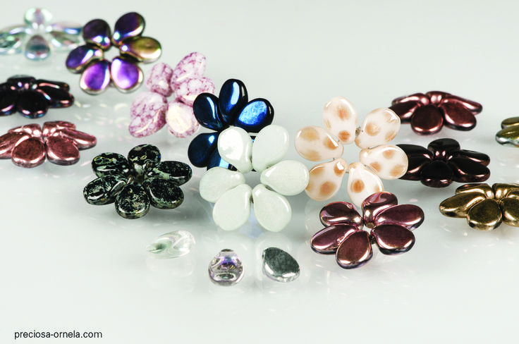Preciosa Ornela pips from Creative Beadcraft in our jewellery making feature