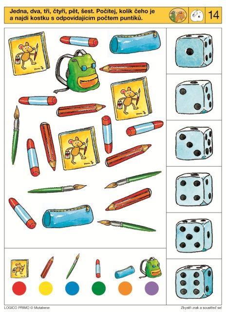 LOGICO PRIMO | Pro děti od 4 let | Zbystři zrak a soustřeď se! | Didaktické…