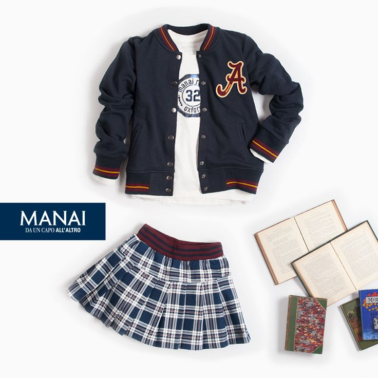 #NuoviArrivi #AutunniInterno2016 #Manai Ricominciare la scuola sarà davvero divertente con la nuova collezione Manai! La nuova collezione Manai ti aspetta piena di novità! Acquista ora -> www.manai.it