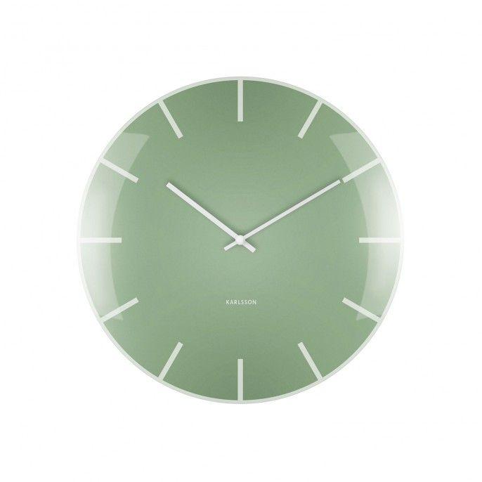 Wanduhr Grün glass dome wanduhr - grün | wohnung | pinterest | wand