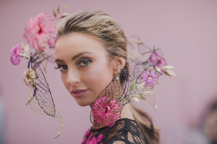 Floating Headpiece for Myer Millinery Award 2017 - Oaks Day