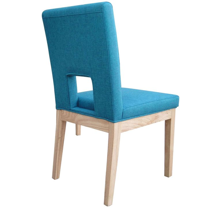 Blue Fabric Dining Chairs fabric dining chairs.sacramento midcentury walnut and grey fabric