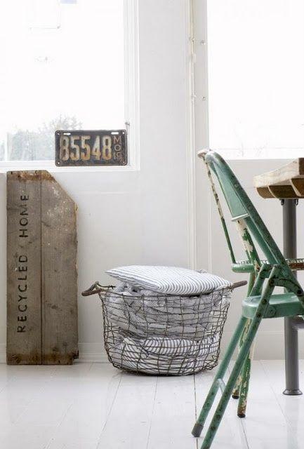 STIJLVOL STYLING - WOONBLOG Interieur, woonideeën, buitenleven, zelf maak ideeën, feest styling tips: Interieur | Draadmand = multifunctione...