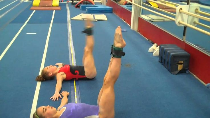This looks like a serious core workout for gymnasts! What do you do to keep your core in tip top shape?