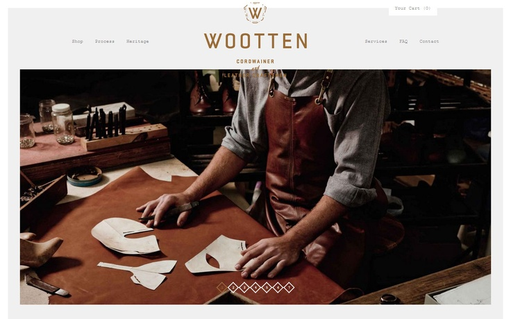 Wootten #web #design #inspiration #showcase #css