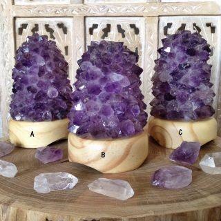 Amethyst Quartz lamp #amethyst #quartz #crystals