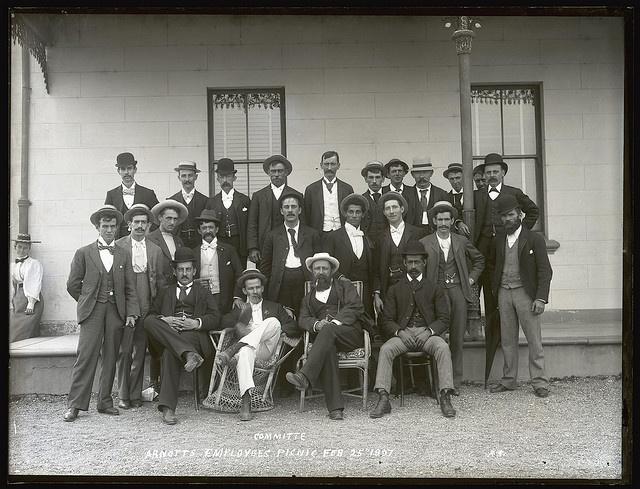 Arnott's Employee's Picnic Committee, Toronto Hotel, Toronto, NSW, 25 February 1897